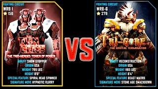 REAL STEEL WRB FINAL Twin Cities VS TRI GORE (Champion)(279) New Robots UPDATE (Живая Сталь)