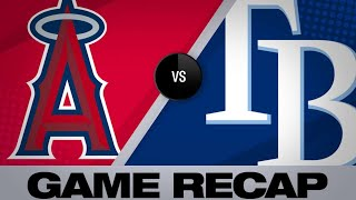 Rays come from behind to defeat the Angels   Angels-Rays Game Highlights 6/14/19