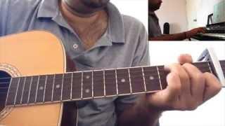 Idhazhin Oram - Guitar + Keyboard Cover