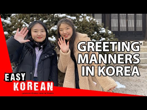 How to properly say HI to your Korean friends   Super Easy Korean 19 photo