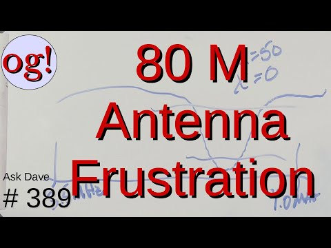 80M Antenna Frustration! (#389)