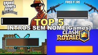 🔴 🔥 INTROS SEM NOME (Jogos - Android) DOWNLOAD 🔥 🔴