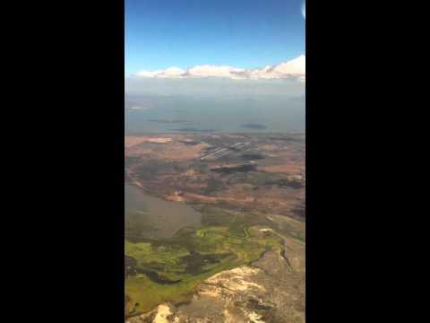 Landing in Managua Nicaragua March 2011