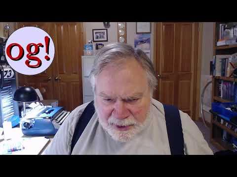 KE0OG Dave Casler Live Stream 14 Jan 2021