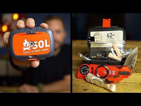 Breaking The Down S.O.L. Origin Survival Kit!