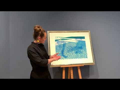 Klogere på kunsten: David Hockneys litografier