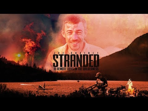 STRANDED IN THE WILD!-Epic Remote Wilderness Fly in Trip-Bushcraft-Canoing-Fishing-WILDERNESS LIVING