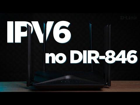 Como configurar o IPV6 no Roteador DIR-846