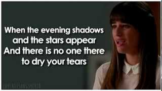 Glee - Make You Feel My Love (Lyrics)