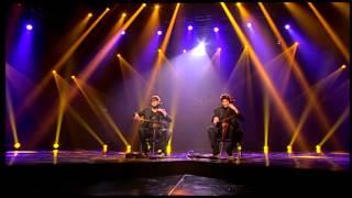 2CELLOS (Smells like teen spirit) - X Factor Adria - LIVE 1