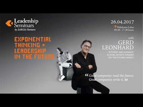 EXPONENTIAL THINKING + LEADERSHIP IN THE FUTURE