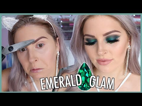 Glam Emerald Makeup! ?? GEMSTONE SERIES!