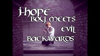 BTS Boy Meets Evil Backwards