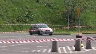 Rajd Konstytucji Sosnowiec 2012 - Obrączka / Walczak - Citroen Saxo VTS