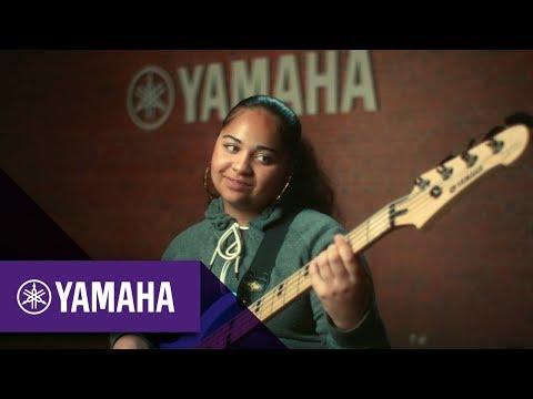 Ava Joseph; Bass Guitarist | #MoreThanAGift | Christmas 2017 | Yamaha Music