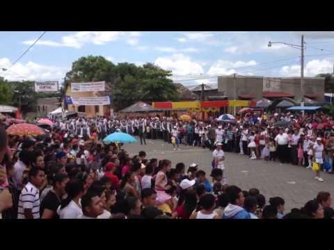 Presentación plasa central la paz centro León Nicaragua