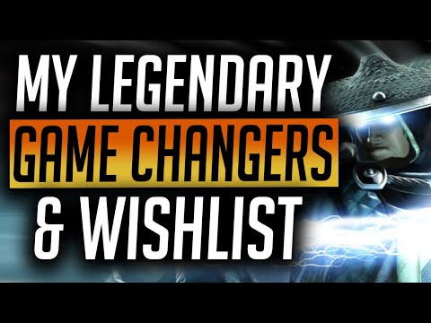RAID: Shadow Legends | My Legendary Game Changers & My Most Wanted List!