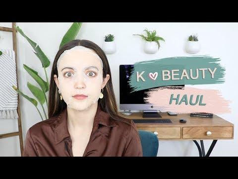 Testing Korean Beauty!! grwm + haul