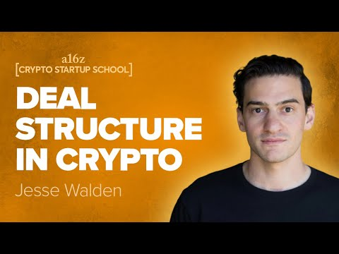 Jesse Walden: Fundraising and Deal Structure