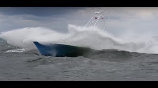 Incredible boats in rough weather