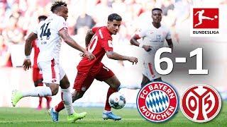 Coutinho's 1st Bayern Start - 1st Perisic & Pavard Goals | Bayern München - Mainz I 6-1 I Highlights