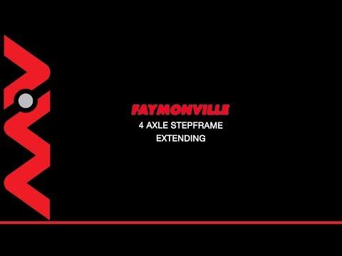 019472 2017 Faymoville 4 Axle Extending Step Trailer MV Commercial