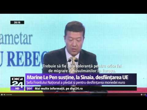 Tomio Okamura: s Marine Le Pen v hlavních rumunských zprávách