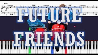 Superfruit - Future Friends - Piano Tutorial w/ Sheets
