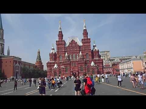 Pinceladas de la Plaza Roja de Moscú