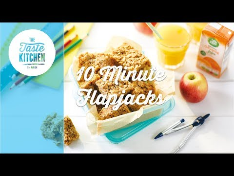 Back to School - 10 Minute Flapjack