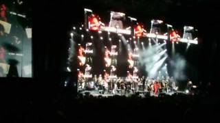Peter Gabriel Live Solsbury Hill Ending and End of Second Set