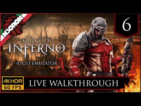 Dante s Inferno 🔥 RPCS3 🔥 Gameplay ITA #6 ✔️ LIVE WALKTHROUGH [4K 60 FPS]