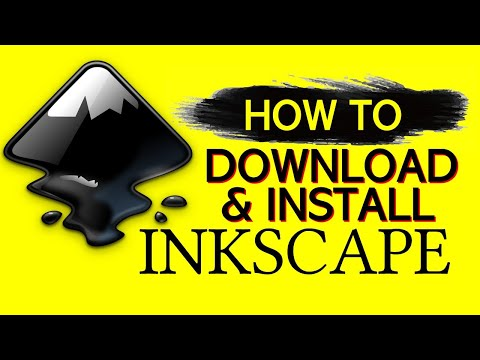 How To DOWNLOAD & INSTALL INKSCAPE – Tutorial For Beginners