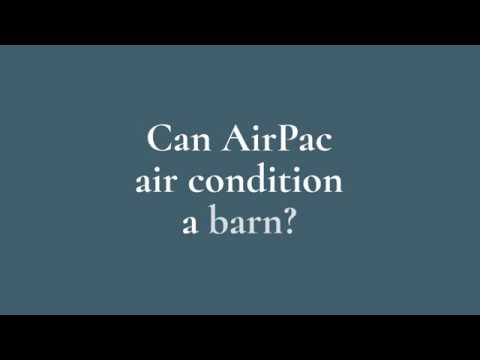How much does it cost to Air Condition a barn?