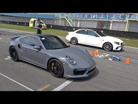 Porsche 991 Turbo S vs RENNtech Mercedes-AMG E 63 S