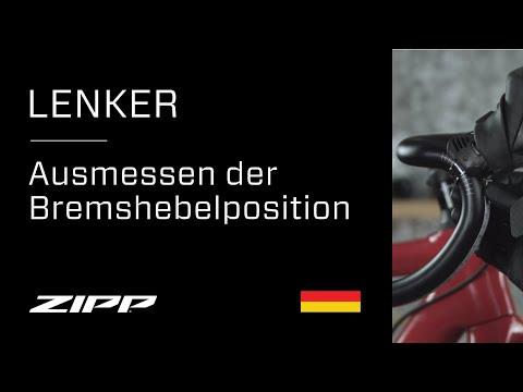 ZIPP Lenker – Ausmessen der Bremshebelposition