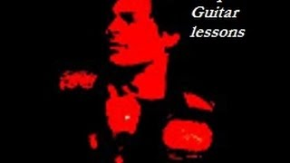 """How to play """"Domino Dancing"""" by Pet Shop Boys on acoustic guitar"""
