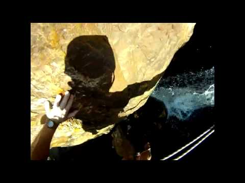 Canyoning in South Africa. 2012