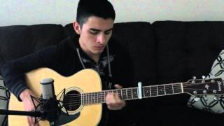 Coldplay - Sparks [Acoustic Cover Video] by Gilberto Capistran