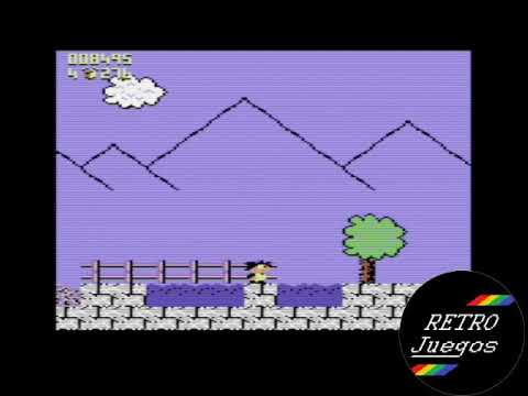 Terry's Big Adventure (Commodore 64) - Review de RETROJuegos por Fabio Didone