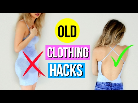 5 DIY CLOTHING HACKS Using Old Shirts You Must Try!