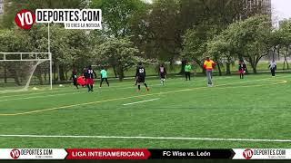 FC WISE vs León Liga Interamericana