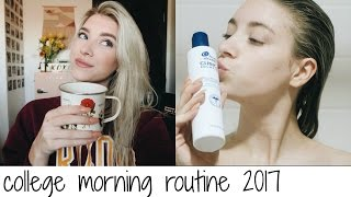 COLLEGE MORNING ROUTINE 2017