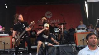 3 - Blood Will Have Blood - Knocked Loose (Live @ Warped Tour in Charlotte, NC - 07/06/17)