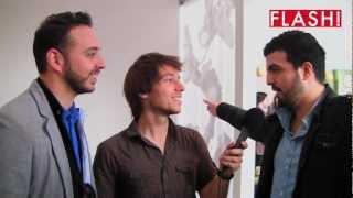 Entrevista FLASH! com Rui Sinel de Cordes e Salvador Martinha no Estoril Open 2012