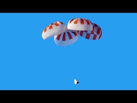 SpaceX Crew Dragon Parachute Test