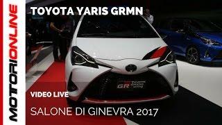 Toyota Yaris GRMN | Salone di Ginevra 2017
