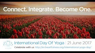 International Day of Yoga Celebrations | Heartfulness Meditation With Daaji