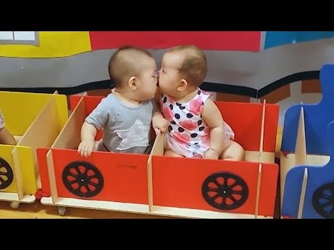 Funny babies kissing Compilation 2018 - Mons and parents blogs