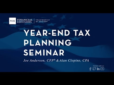 2016 Year-End Tax Planning Seminar Re-Cap